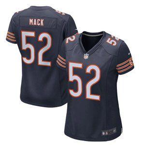 Women's Chicago Bears Khalil Mack Nike 52 Jersey